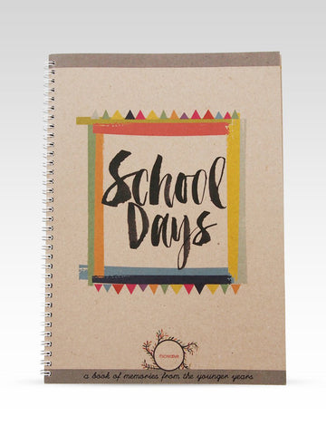 Rhicreative school days book cover
