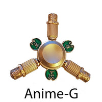 Anime- G Metal  Fidget Finger Spinner