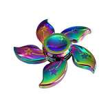 Rainbow Flower Metal  Fidget Spinner finget spinner
