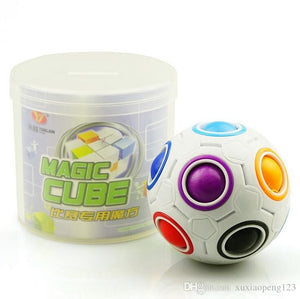 Magic Cube finger puzzle fidget ball-Video
