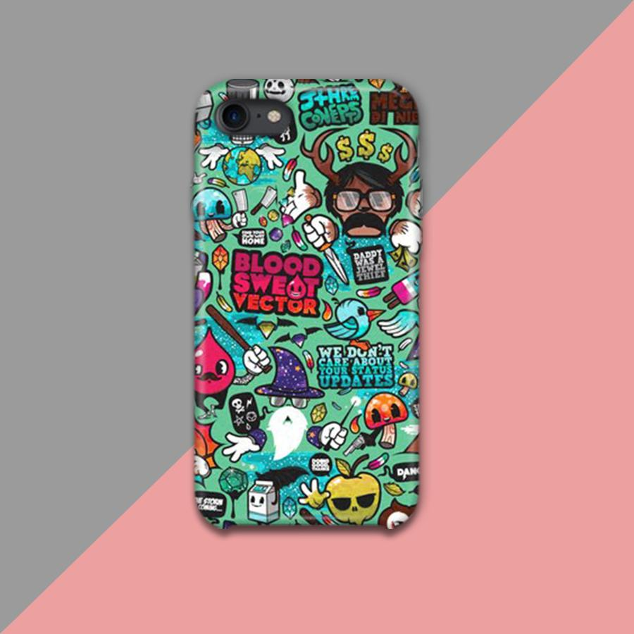 Doodle Art Design Phone Case