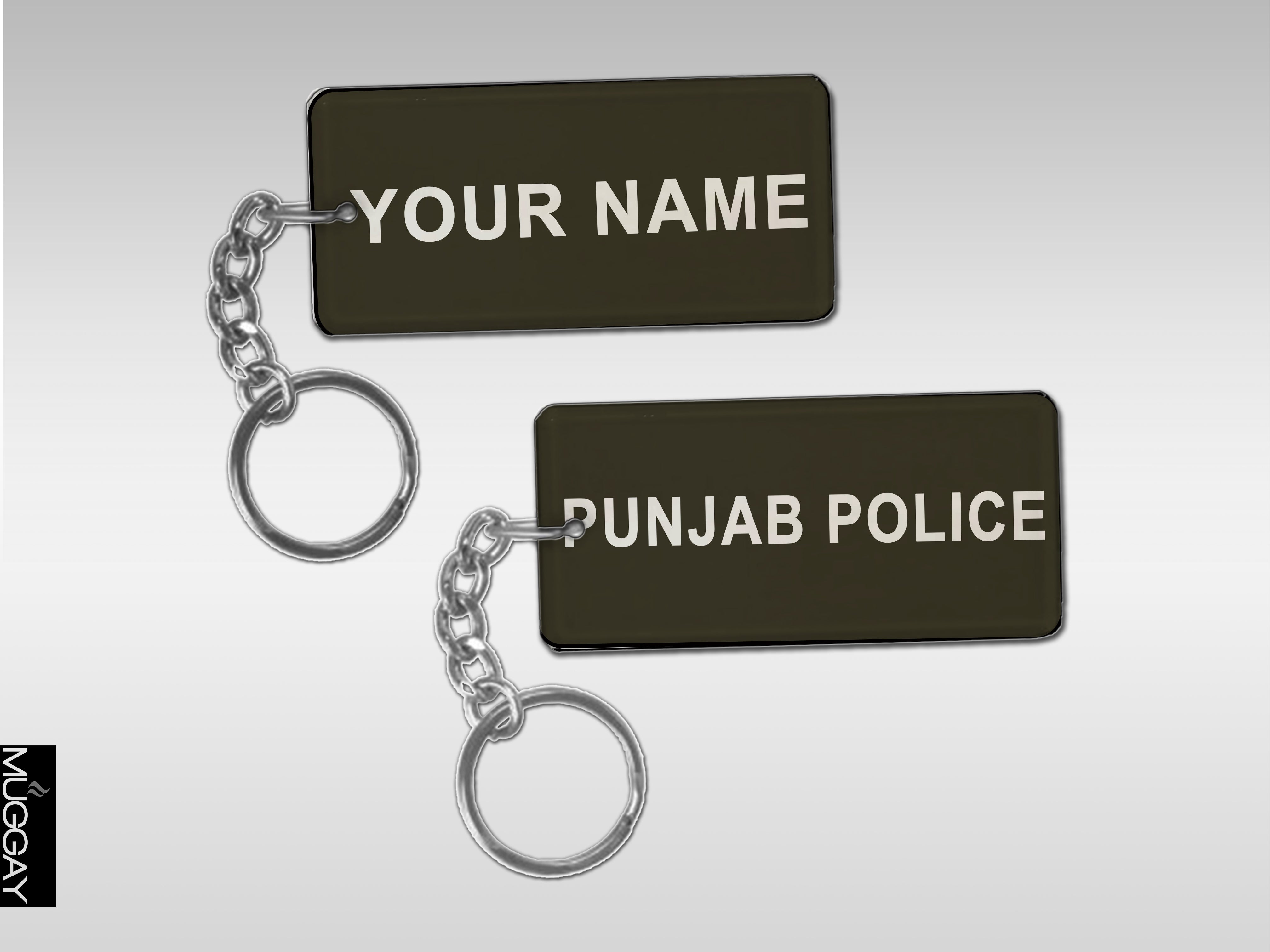 Army Key-Chains with Your Name