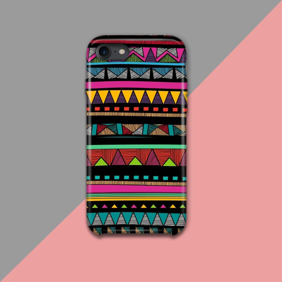 Multi color  tribal pattern Design Phone Case