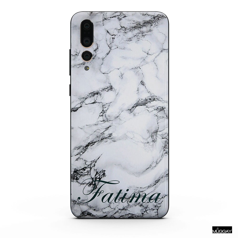 Mobile Covers - Marble - Add your name