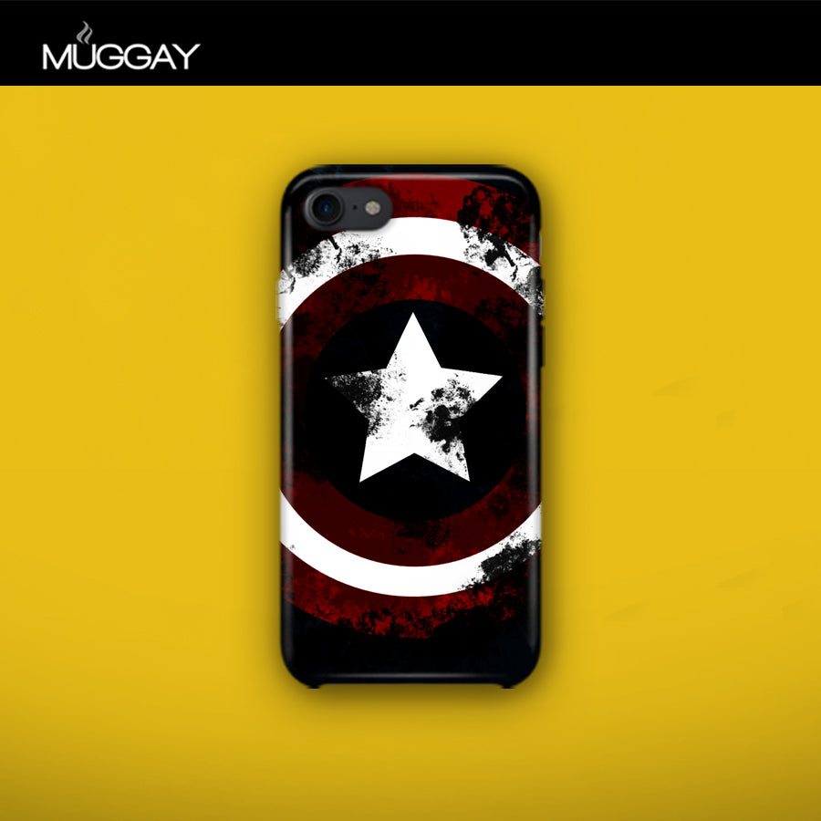 Mobile Covers - Captain America Shield