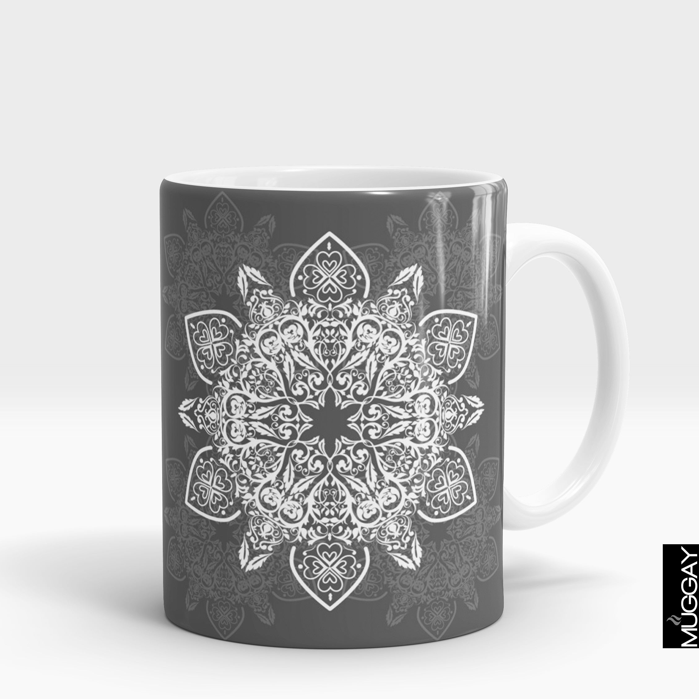 Mandala art mugs -12