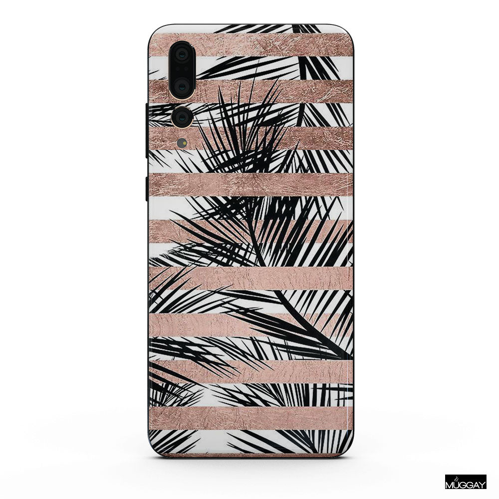 Mobile Covers - Stripe Palms