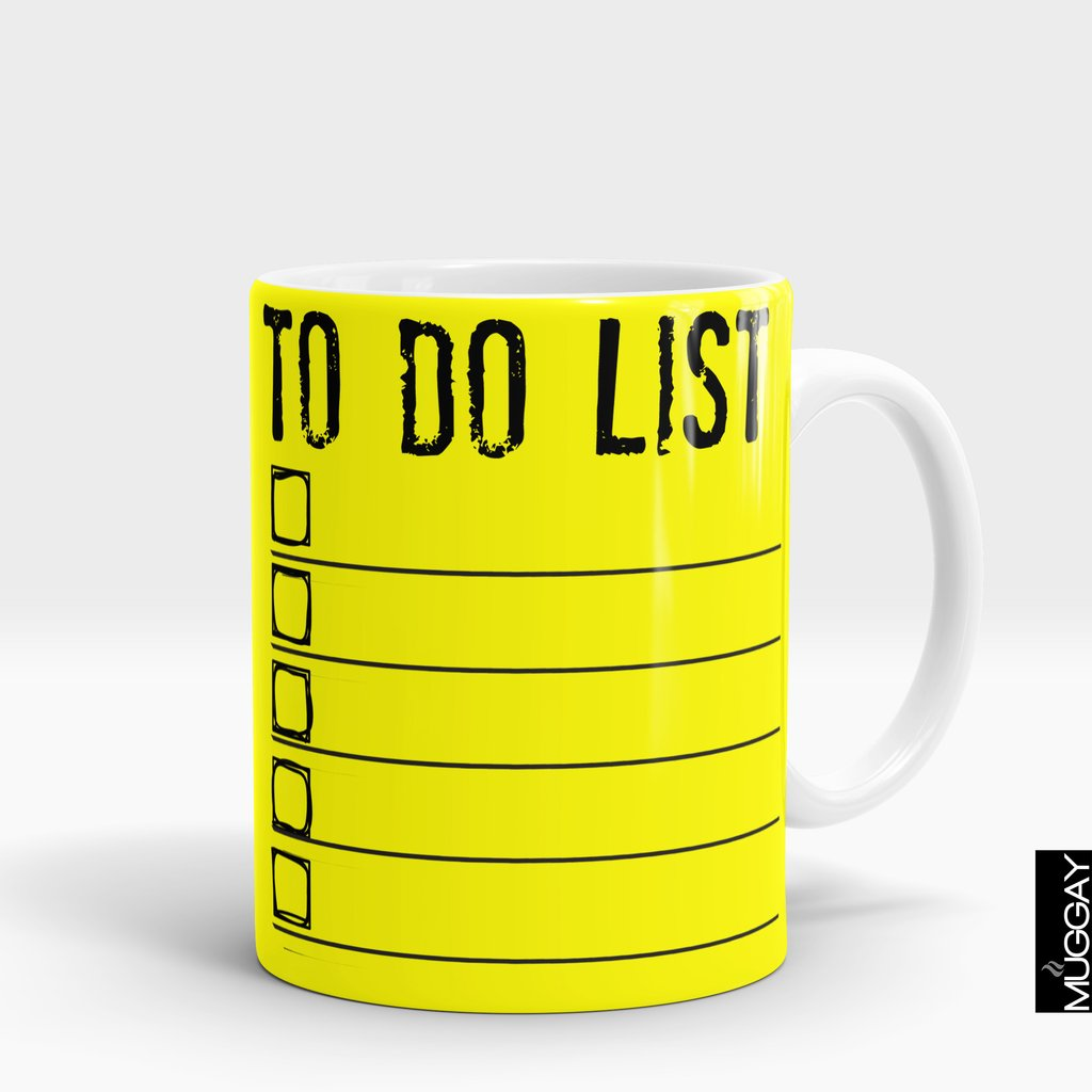 'To Do List' for Lawyer Mug