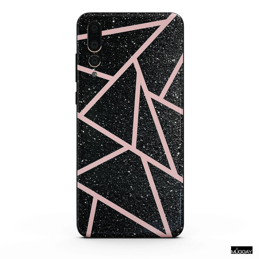 Mobile Covers - Pink glitter