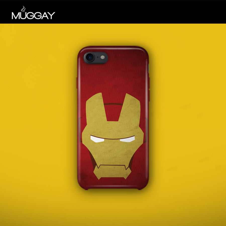 Mobile Covers - Iron Man Mask