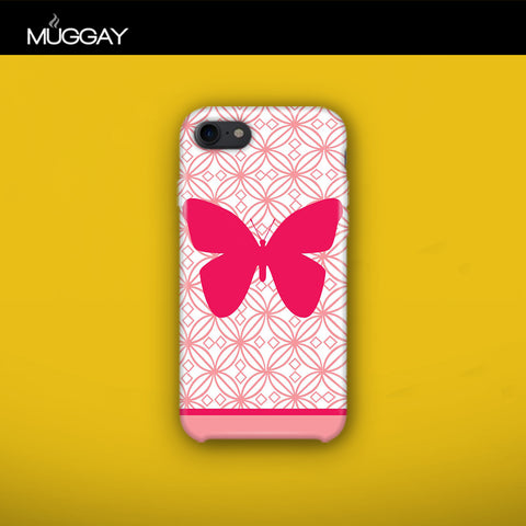 Mobile Covers - Pink Butterfly