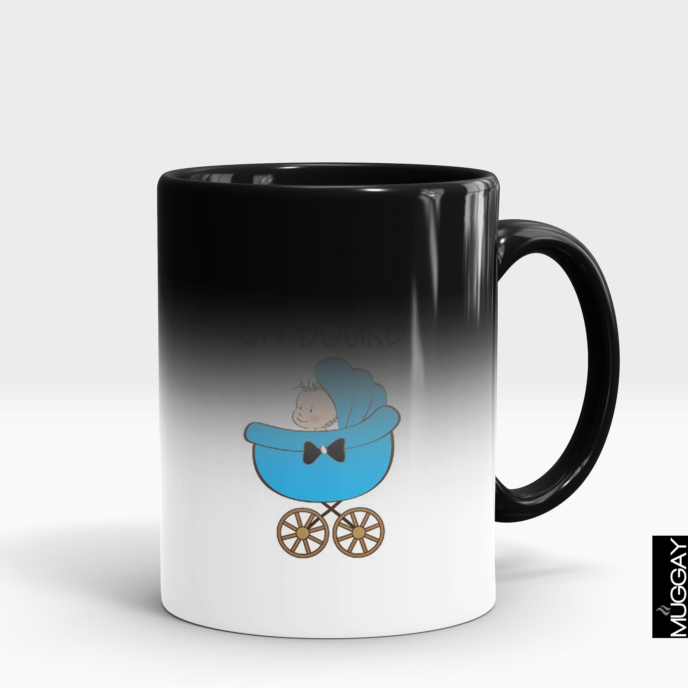 Baby Mug - baby2 - Muggay.com - Mugs - Printing shop - truck Art mugs - Mug printing - Customized printing - Digital printing - Muggay