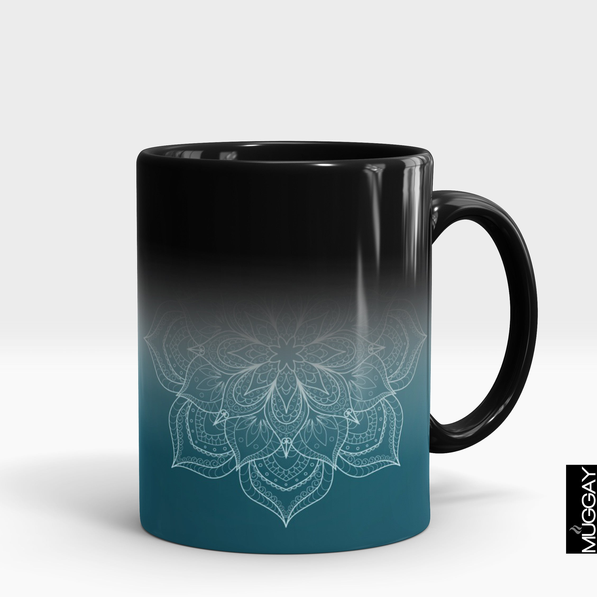 Mandala art mugs -2