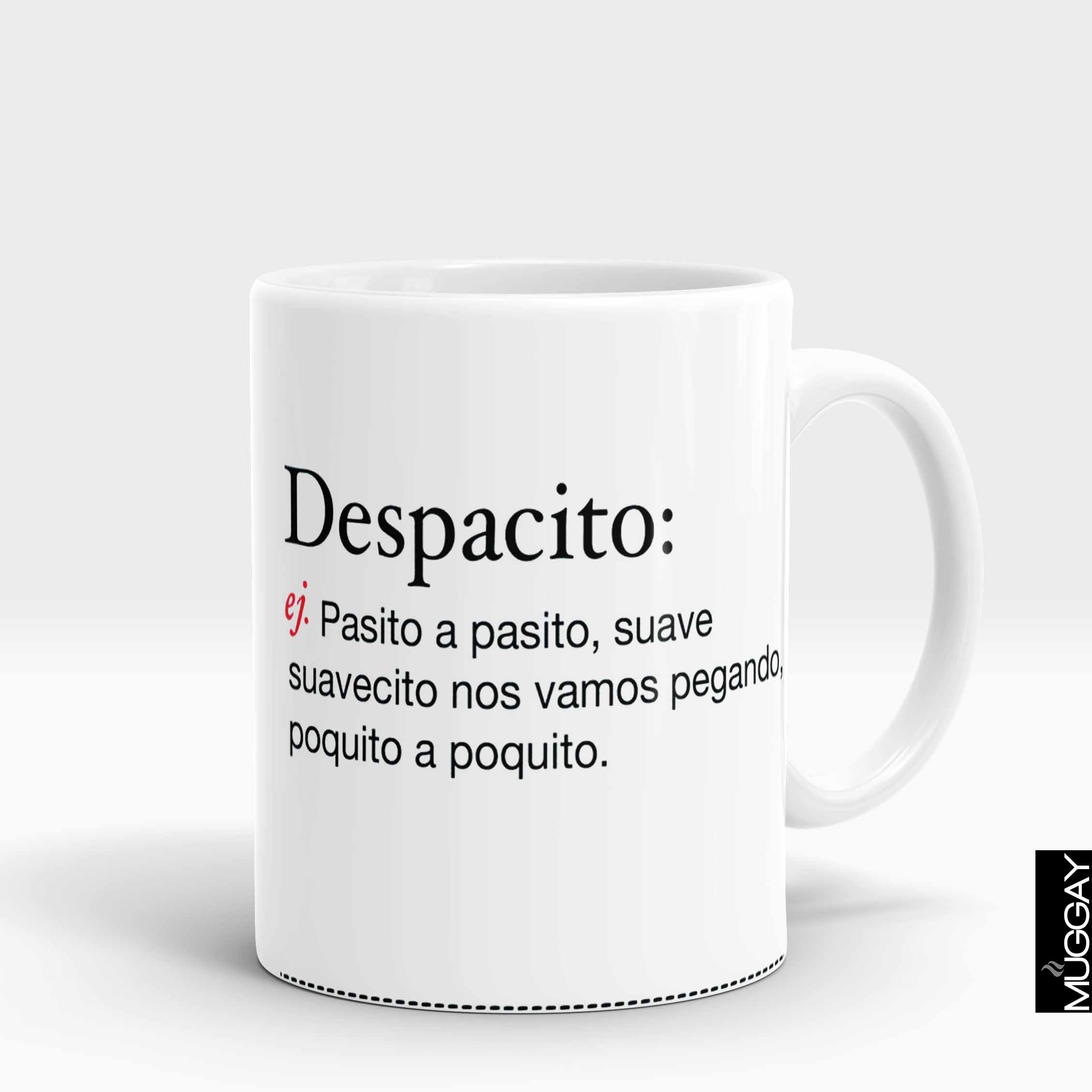 Decpacito Lyrics - Muggay.com - Mugs - Printing shop - truck Art mugs - Mug printing - Customized printing - Digital printing - Muggay
