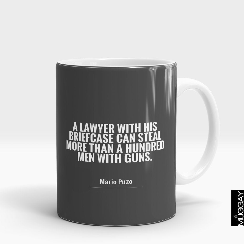 'A Lawyer with his Briefcase' Mug