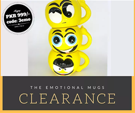 Emotional Mugs -  3emo