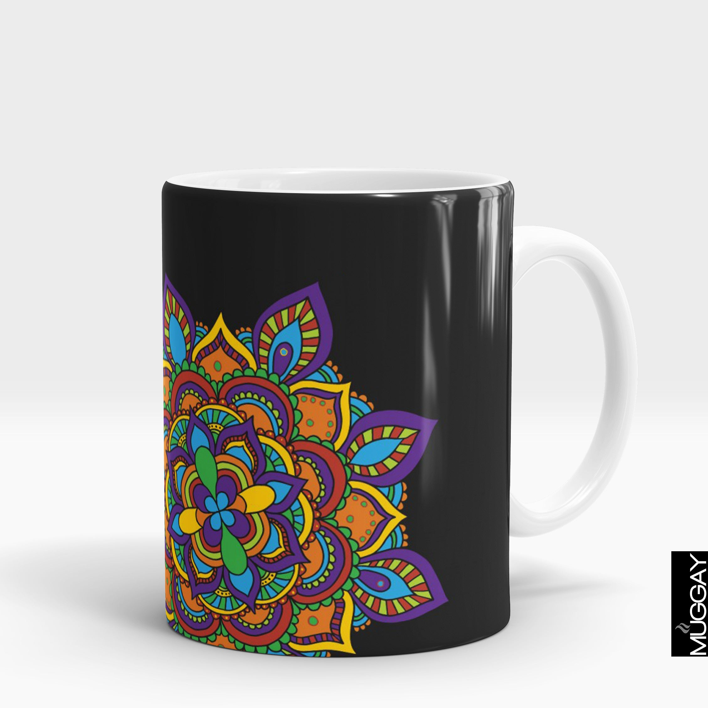 Mandala art mugs -4