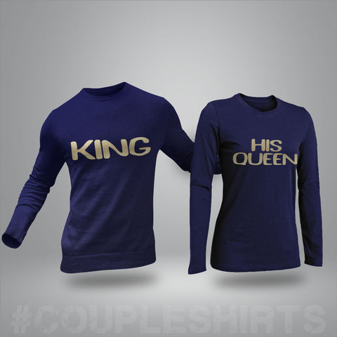 King & Queen Long sleeve shirt