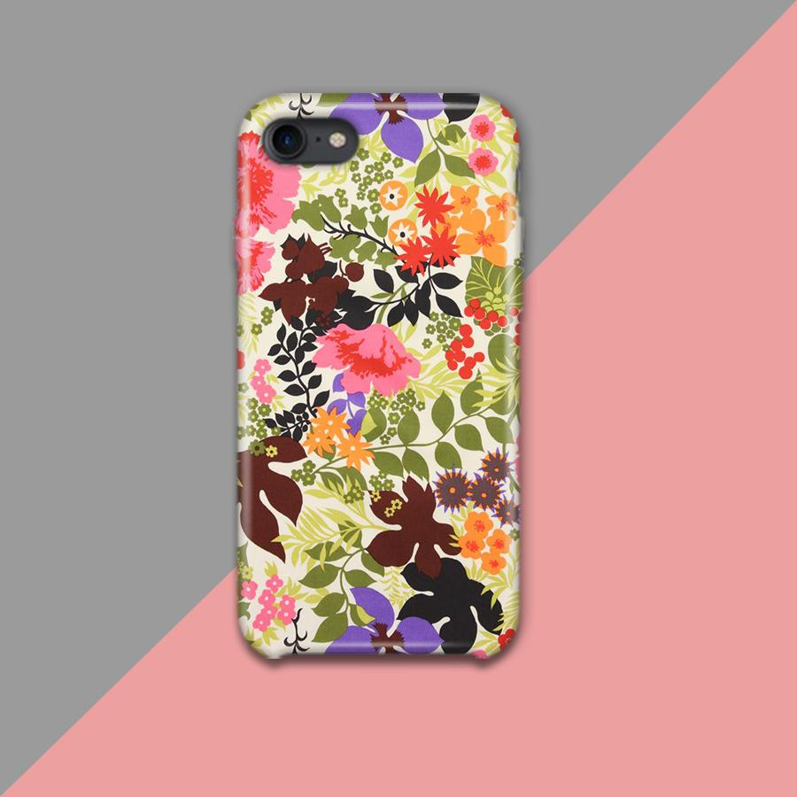 Multi color Flowers Design Phone Case