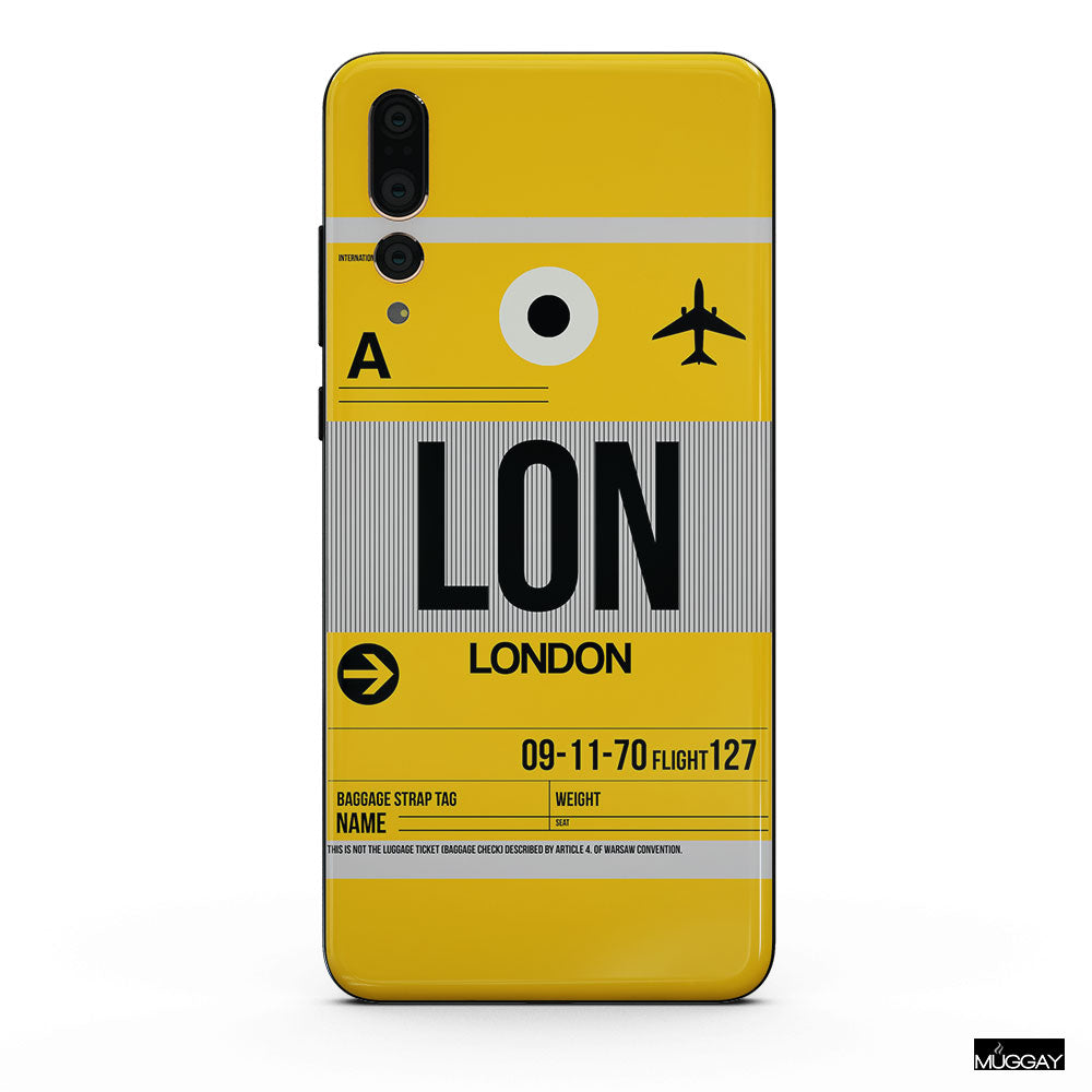 Mobile Covers - Airport tag LON