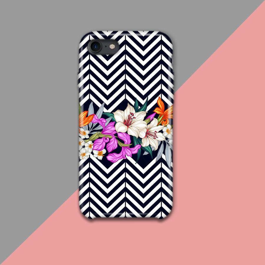 Tropical Flower Design Phone Case