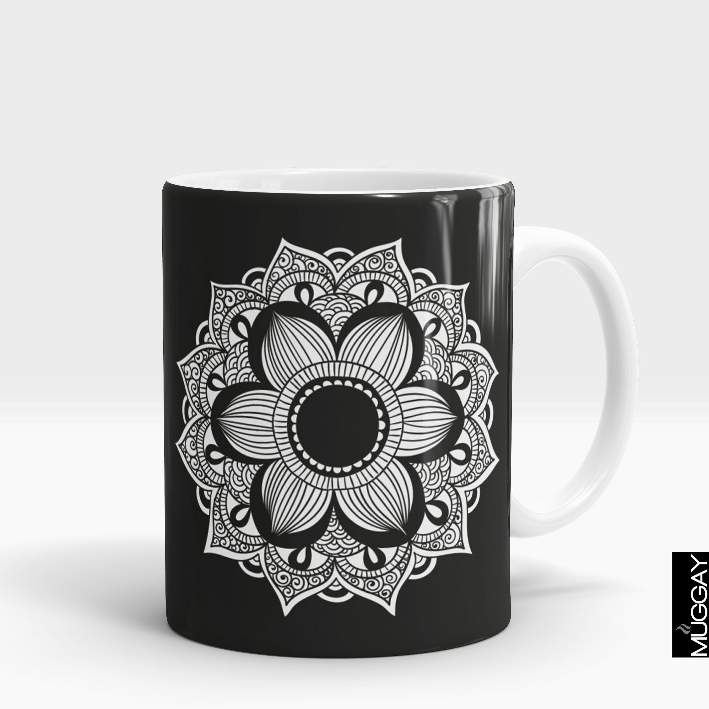 Mandala art mugs -6