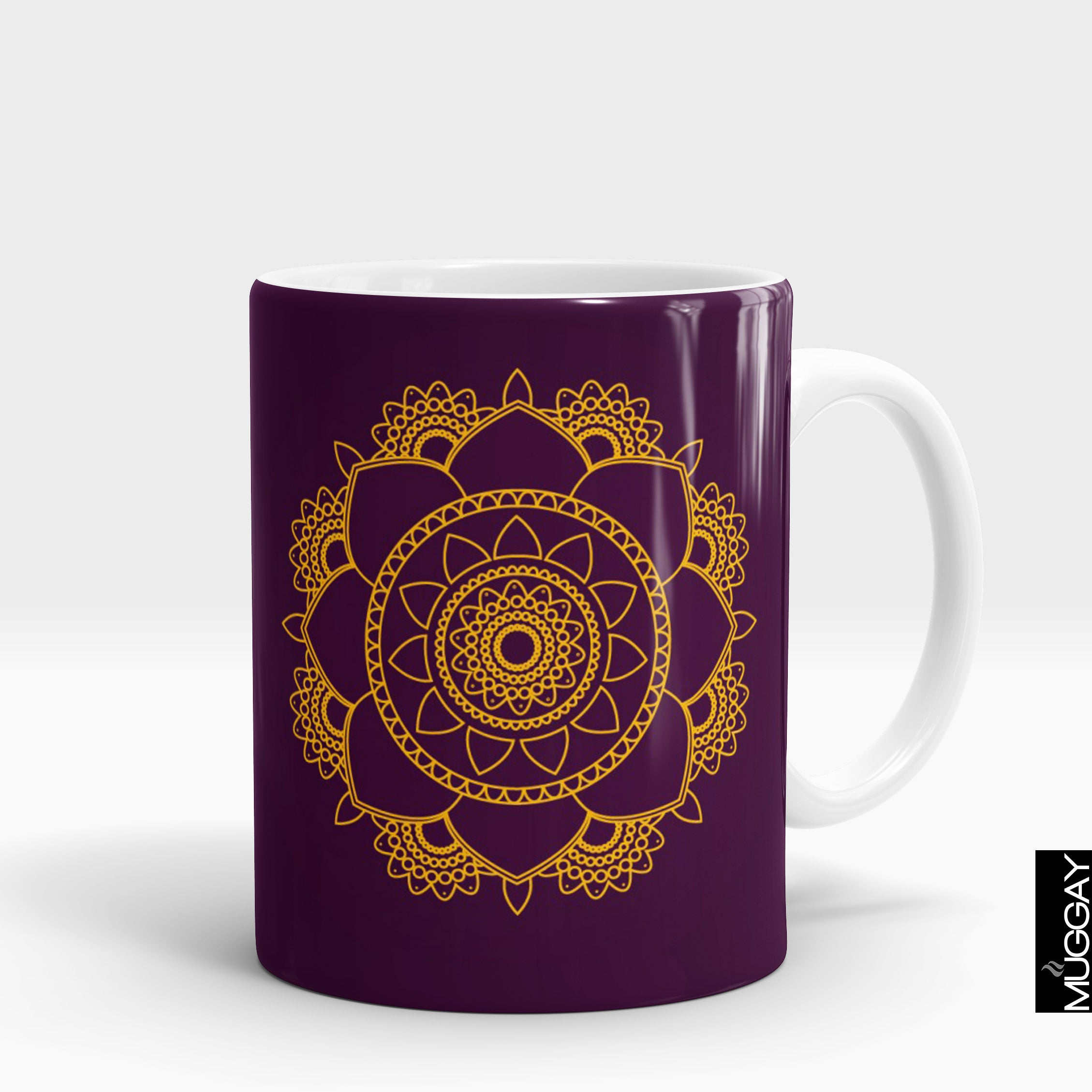 Mandala art mugs -7