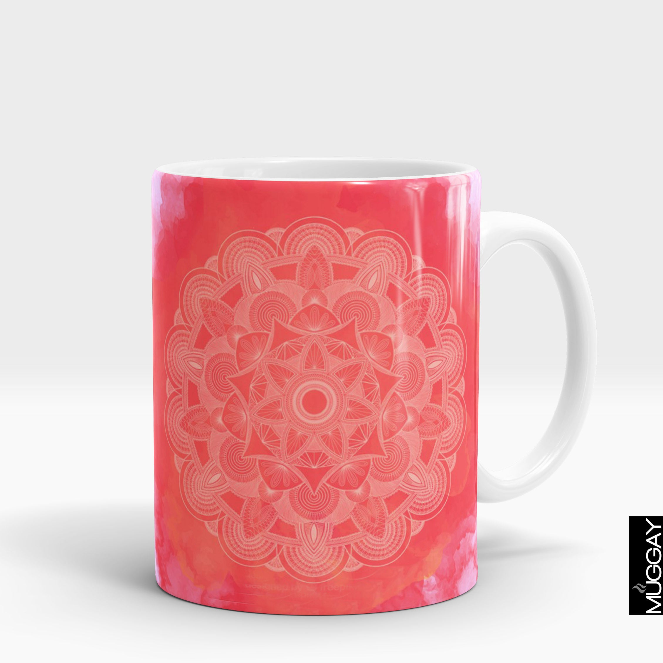Mandala art mugs -8