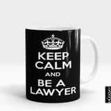 'Keep Calm & Be a Lawyer' Mug