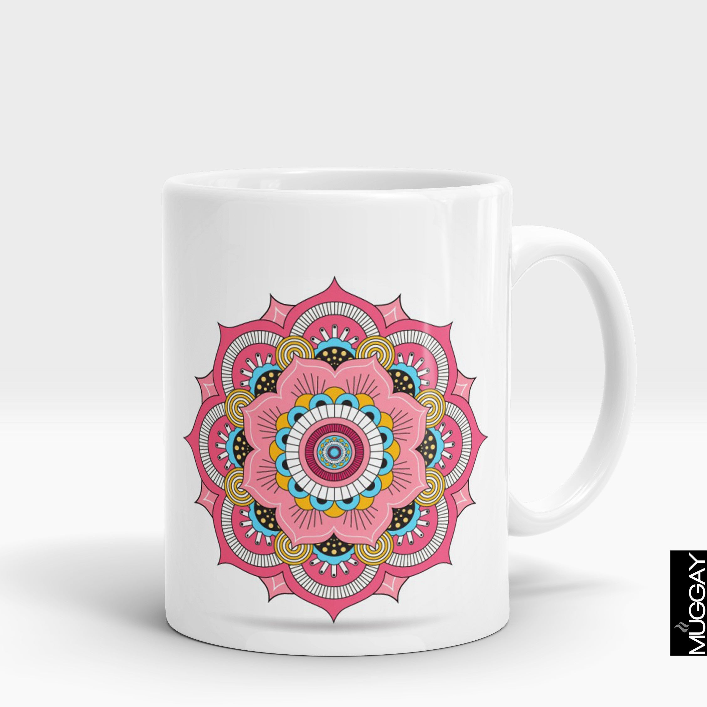 Mandala art mugs -9