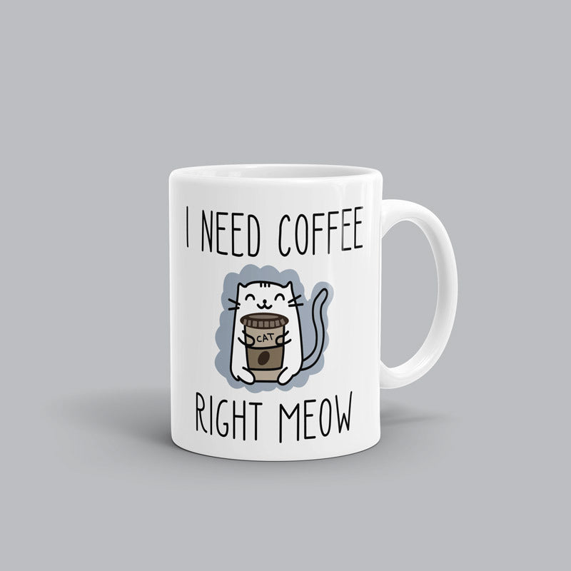 Need Coffee Meow AL Mug
