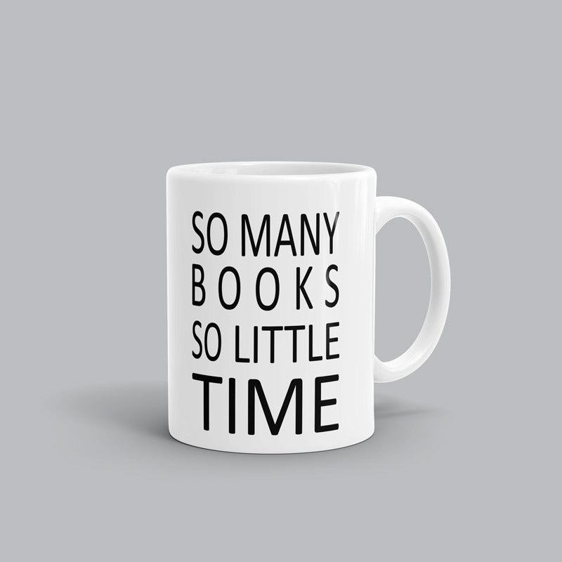So little time Book Mug