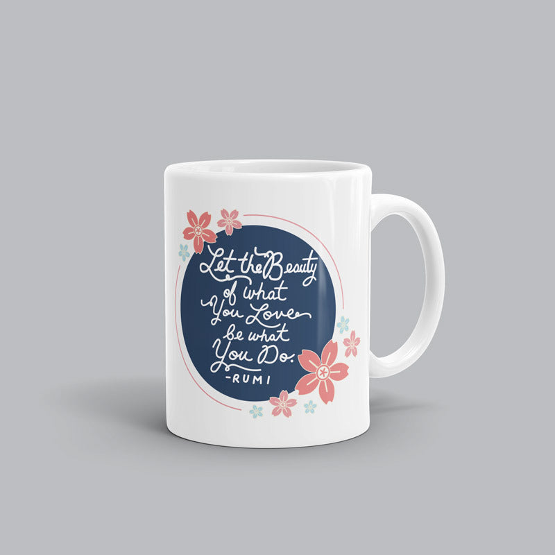 Let the beauty Rumi Mug