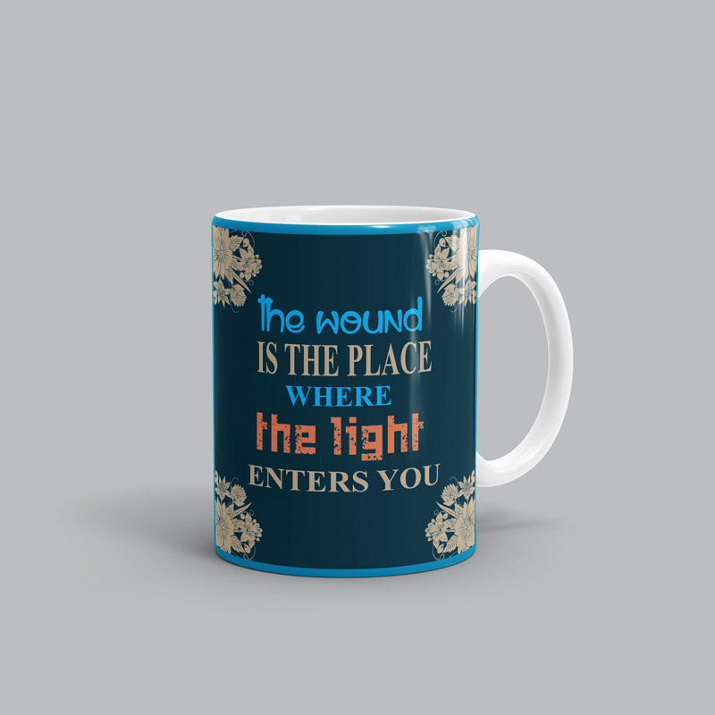 The wound Rumi Mug