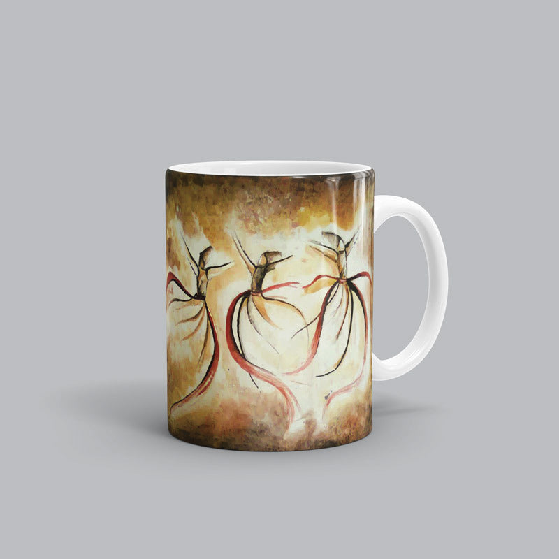 Whirling Dervish Rumi Mug