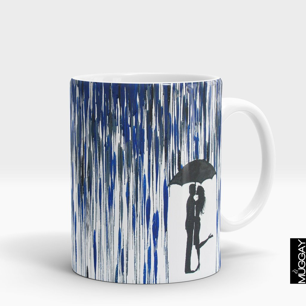 'Under the Umbrella' Rain Lover Mug