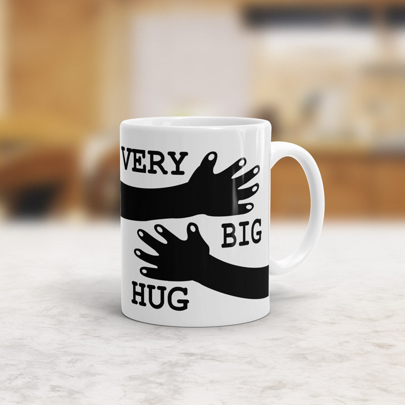 Very big hug mug