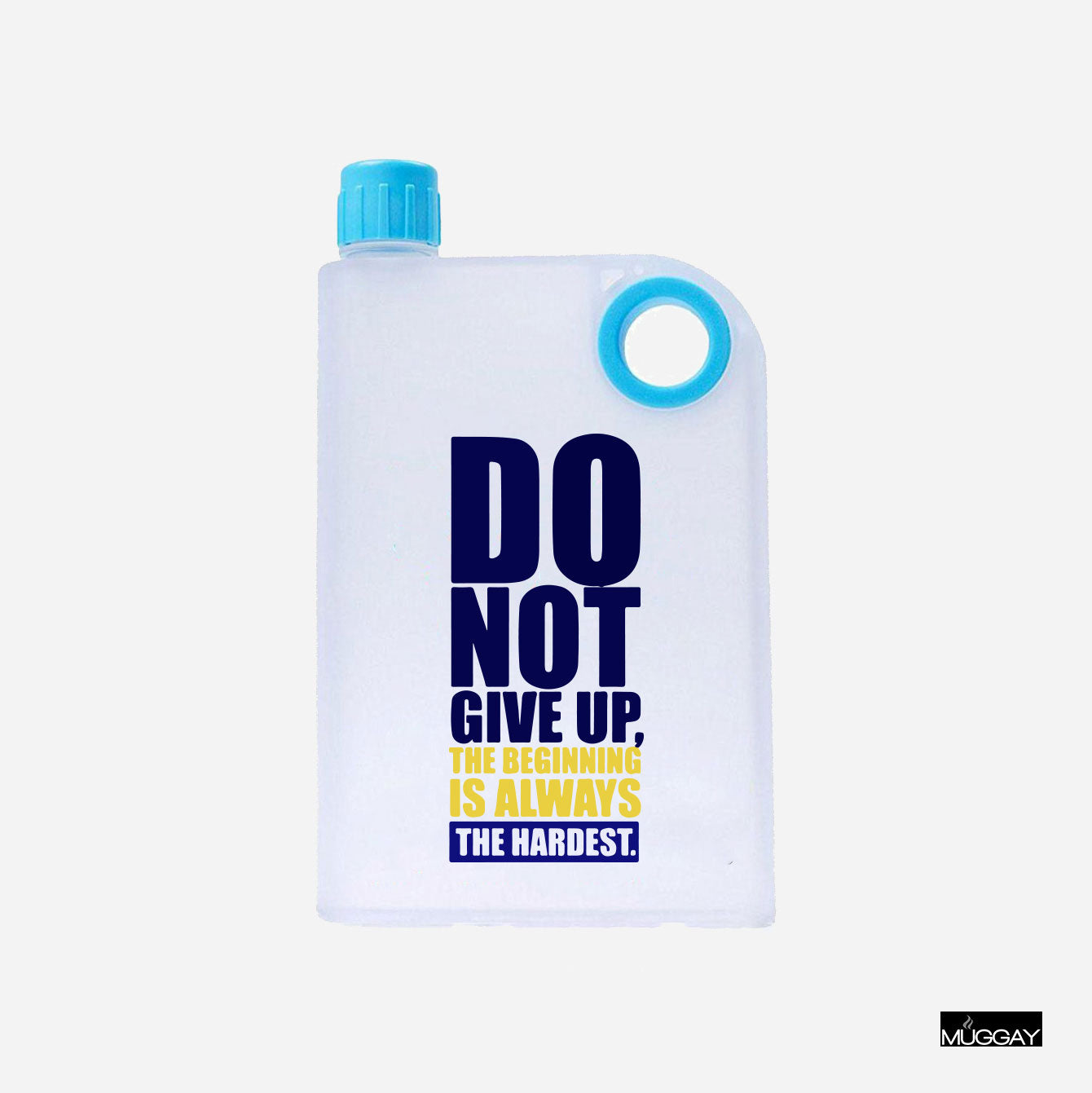 Notebook Bottle - Do not give up