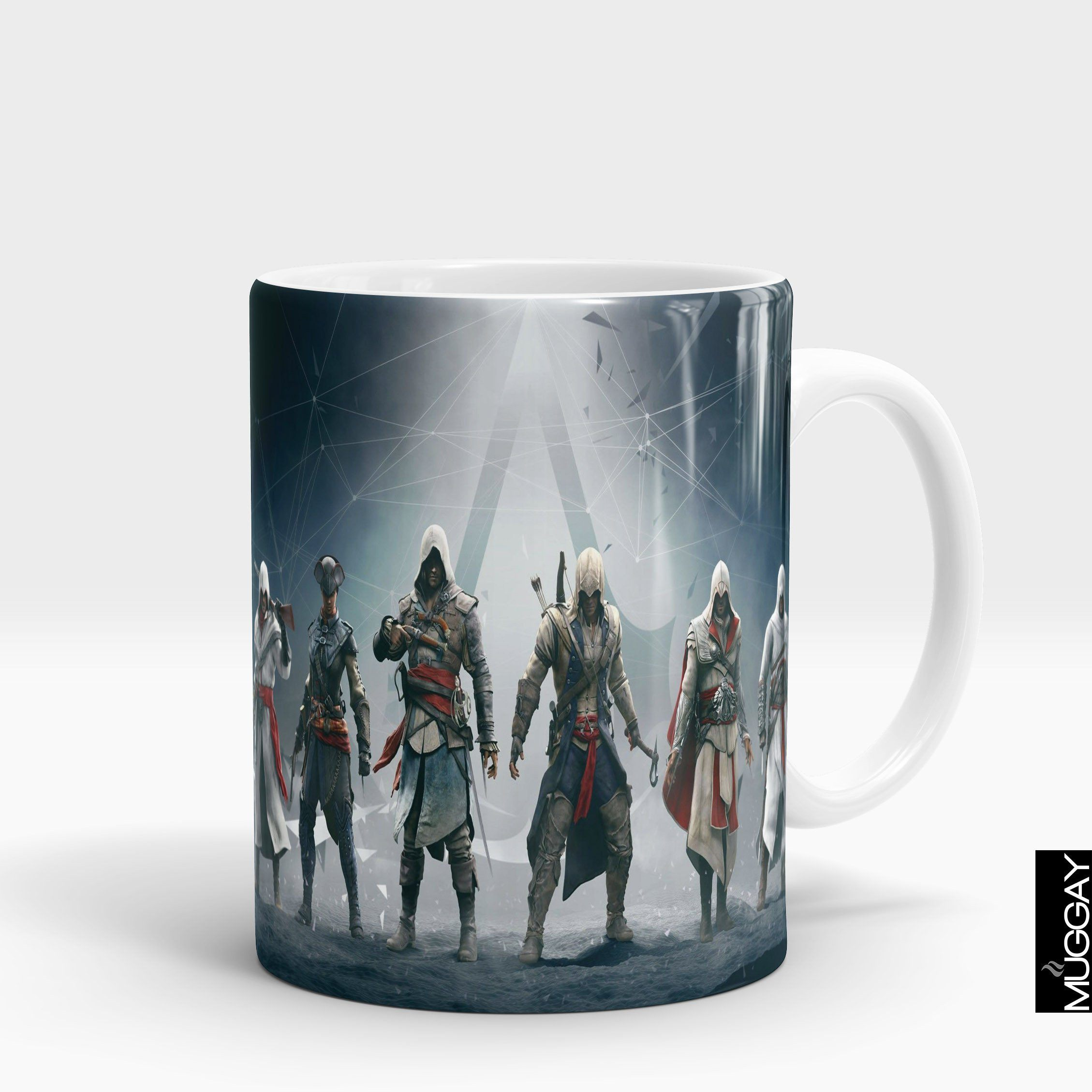 Assasins creed mugs - ac2 Assassins Creed Muggay.com white