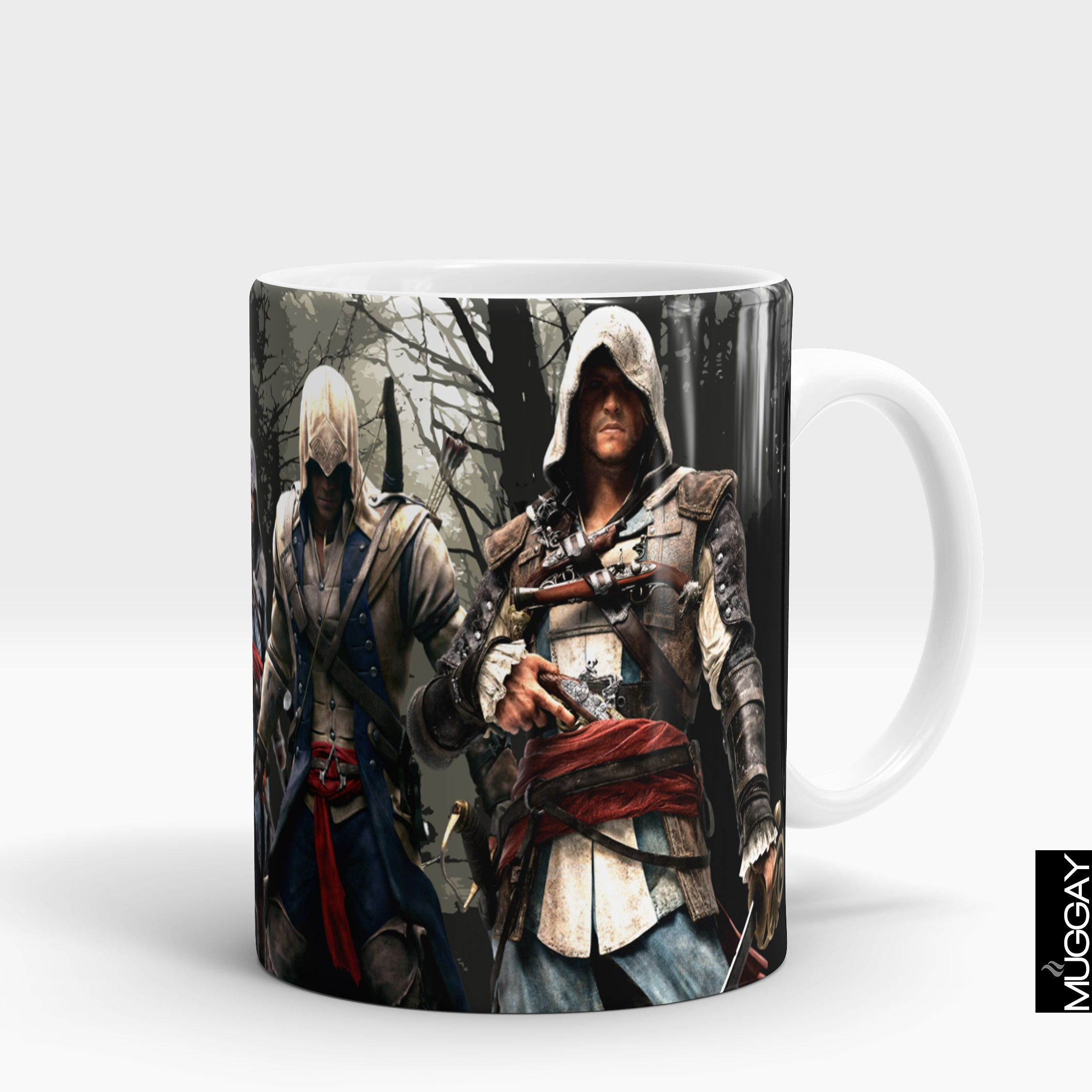 Assasins creed mugs - ac3 - Muggay.com - Mugs - Printing shop - truck Art mugs - Mug printing - Customized printing - Digital printing - Muggay