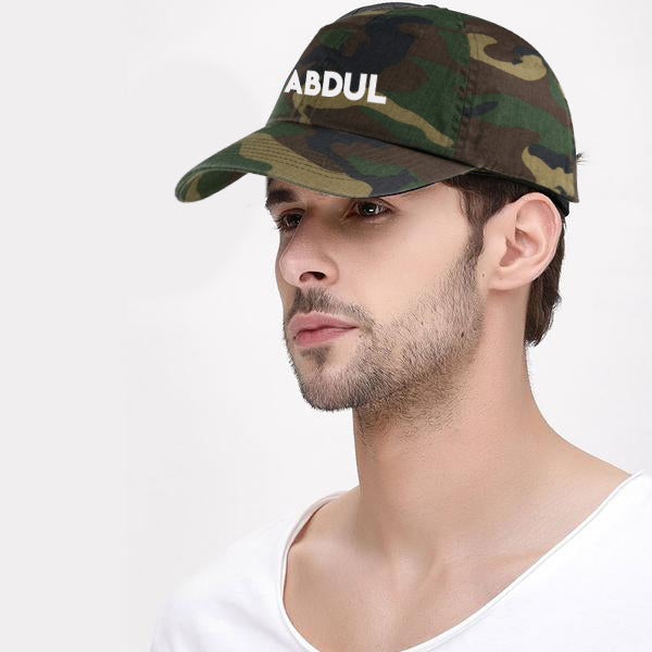 Military Cap - Add your Name