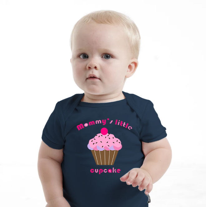 'MOMMY's Little Cupcake' Baby Romper