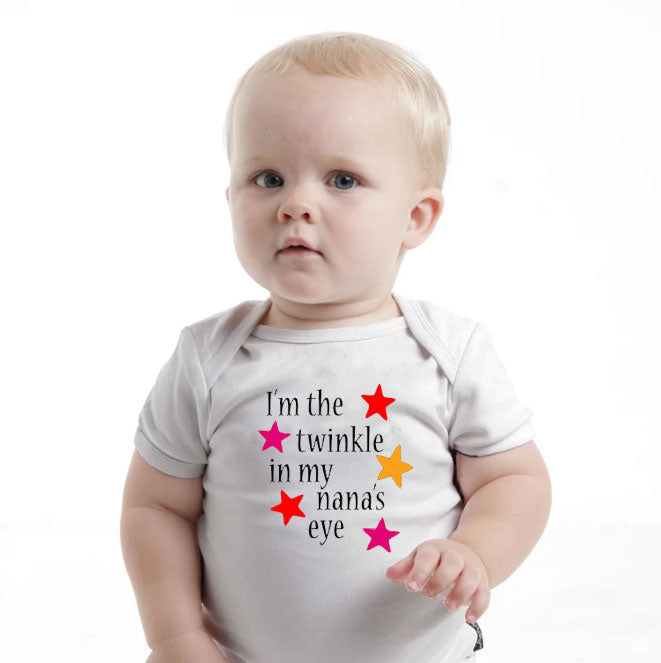 'I'm The Twinkle In My Nana's Eye' Baby romper