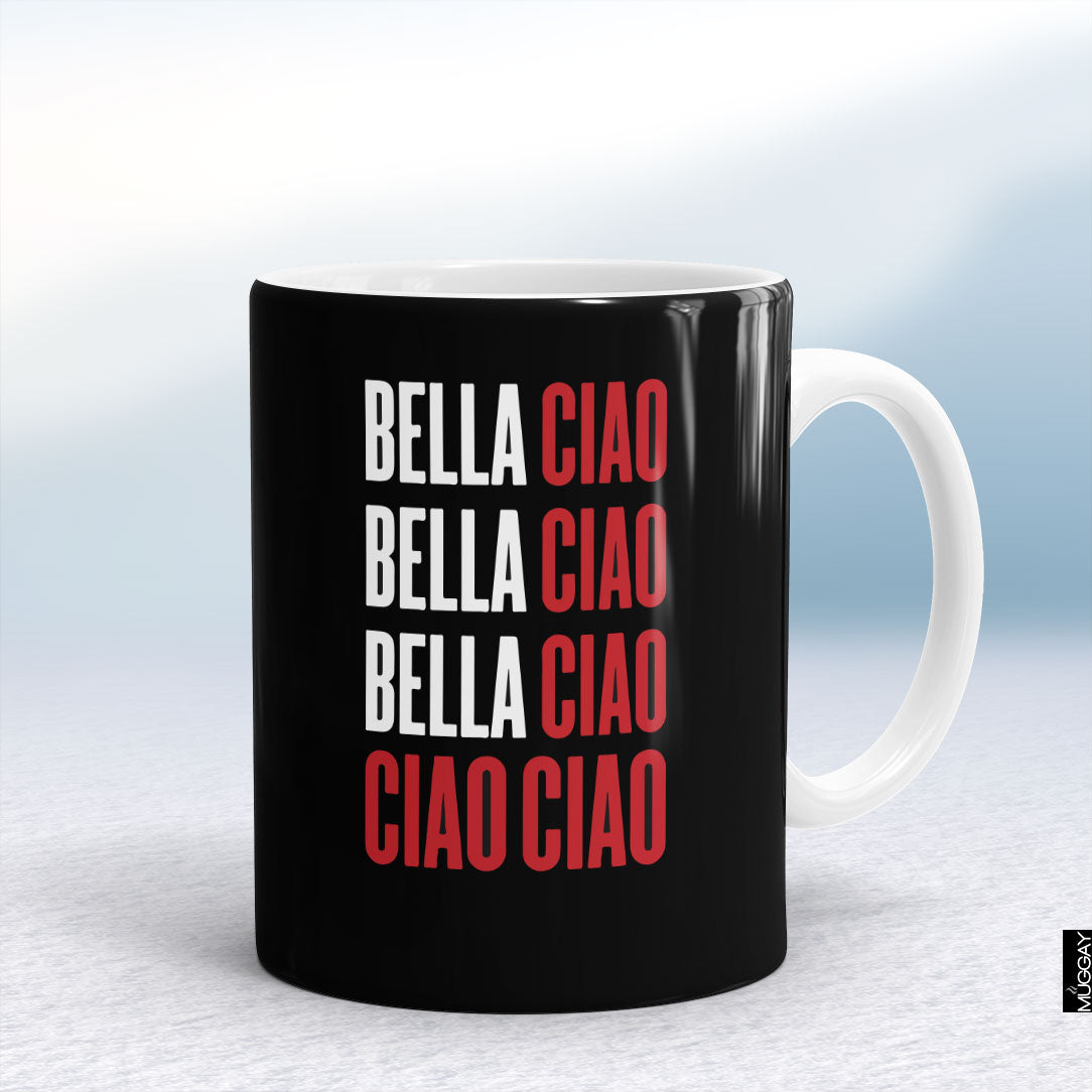 Bella ciao - Muggay.com - Mugs - Printing shop - truck Art mugs - Mug printing - Customized printing - Digital printing - Muggay - Money heist