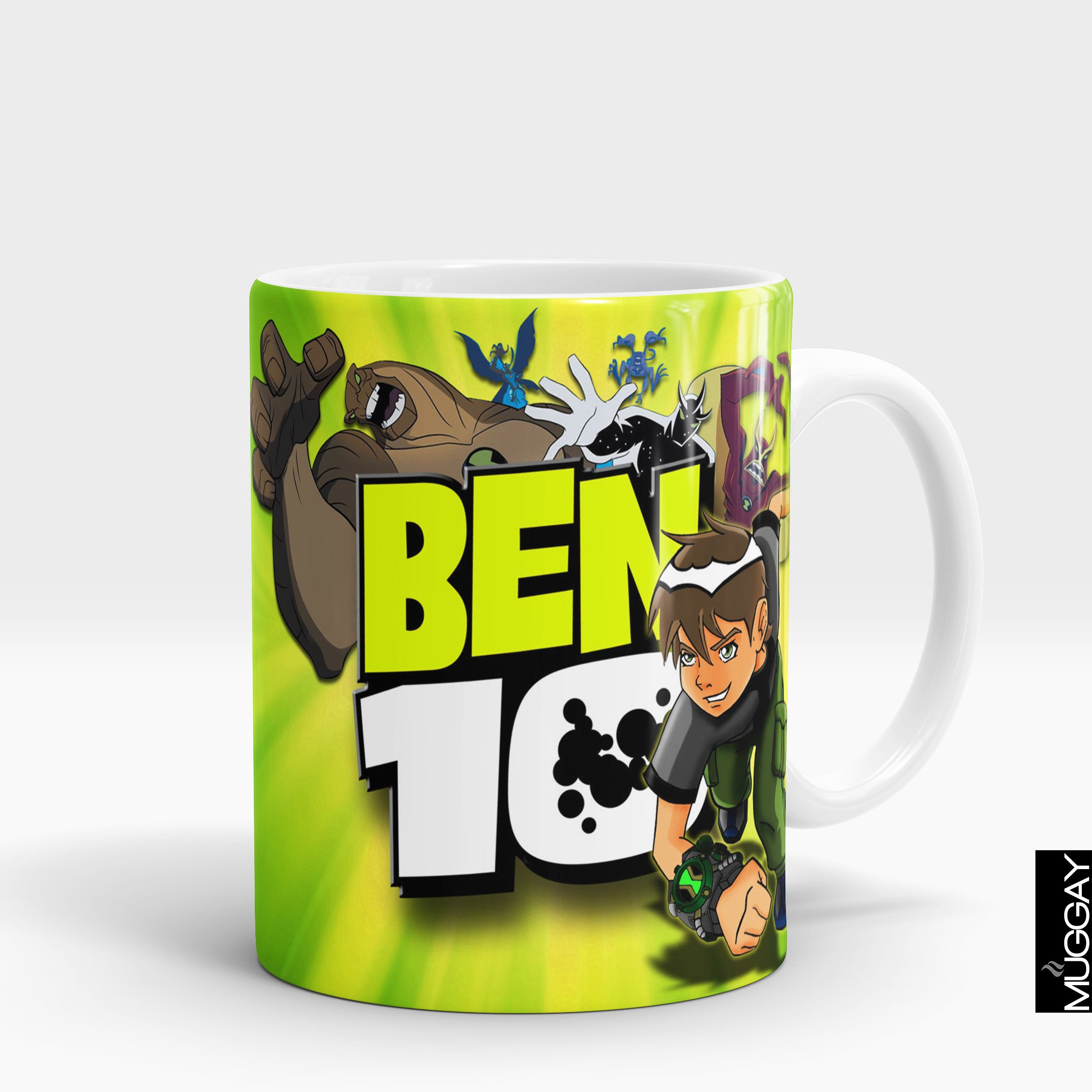 Ben 10 mugs - ben4 - Muggay.com - Mugs - Printing shop - truck Art mugs - Mug printing - Customized printing - Digital printing - Muggay