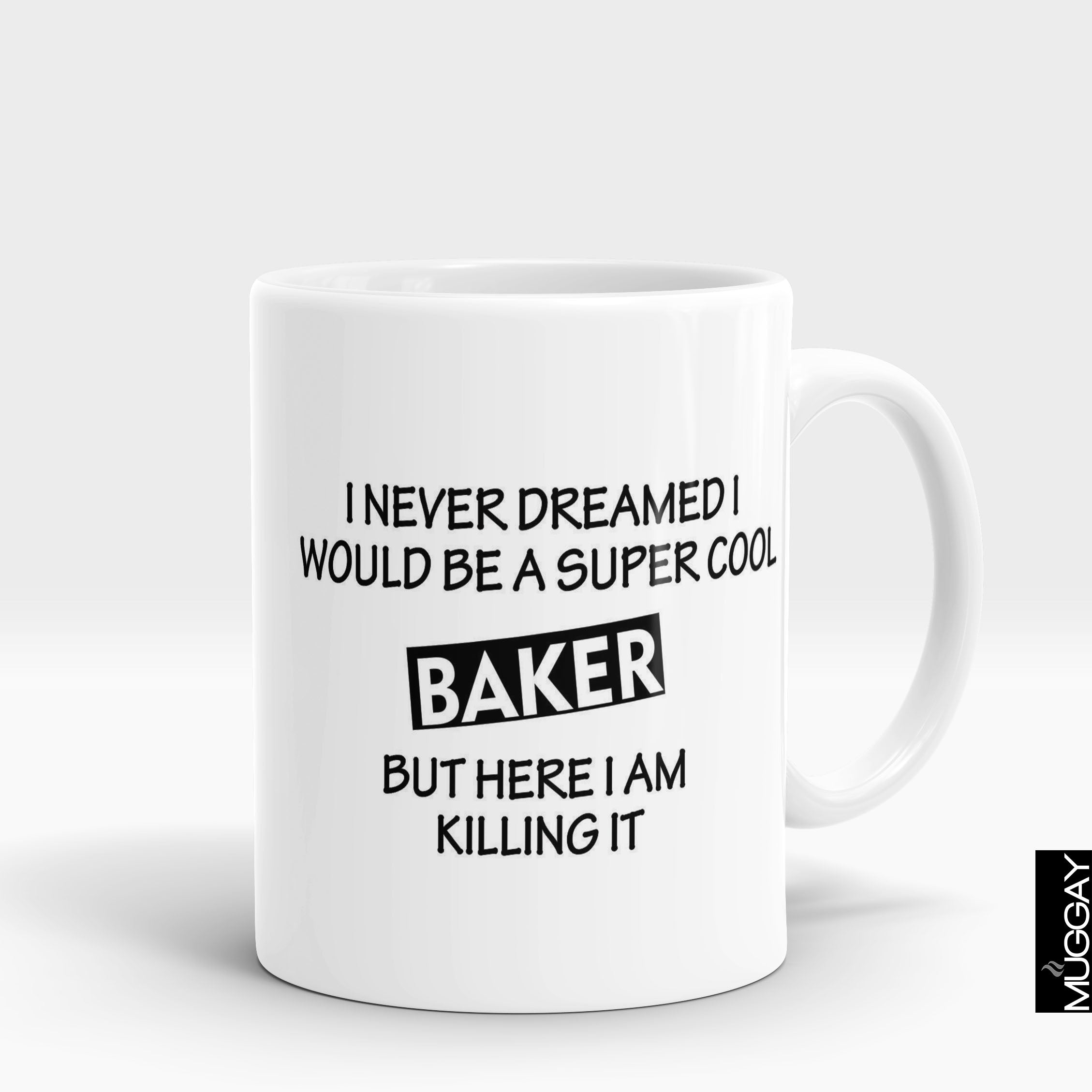 Baking Mug - bkr10 - Muggay.com - Mugs - Printing shop - truck Art mugs - Mug printing - Customized printing - Digital printing - Muggay