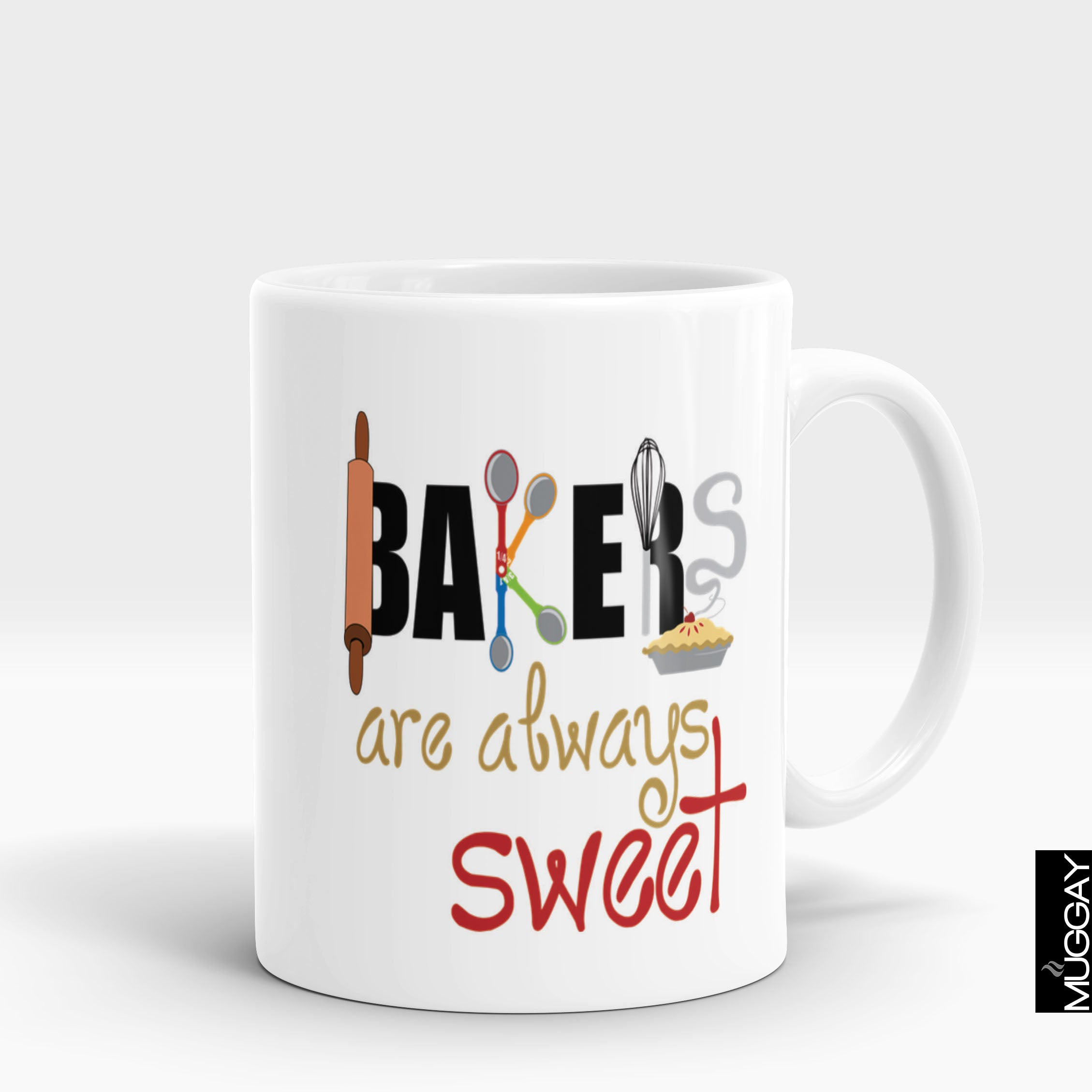 Baking Mug - bkr8 - Muggay.com - Mugs - Printing shop - truck Art mugs - Mug printing - Customized printing - Digital printing - Muggay