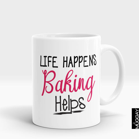 Baking Mug - bkr9 - Muggay.com - Mugs - Printing shop - truck Art mugs - Mug printing - Customized printing - Digital printing - Muggay