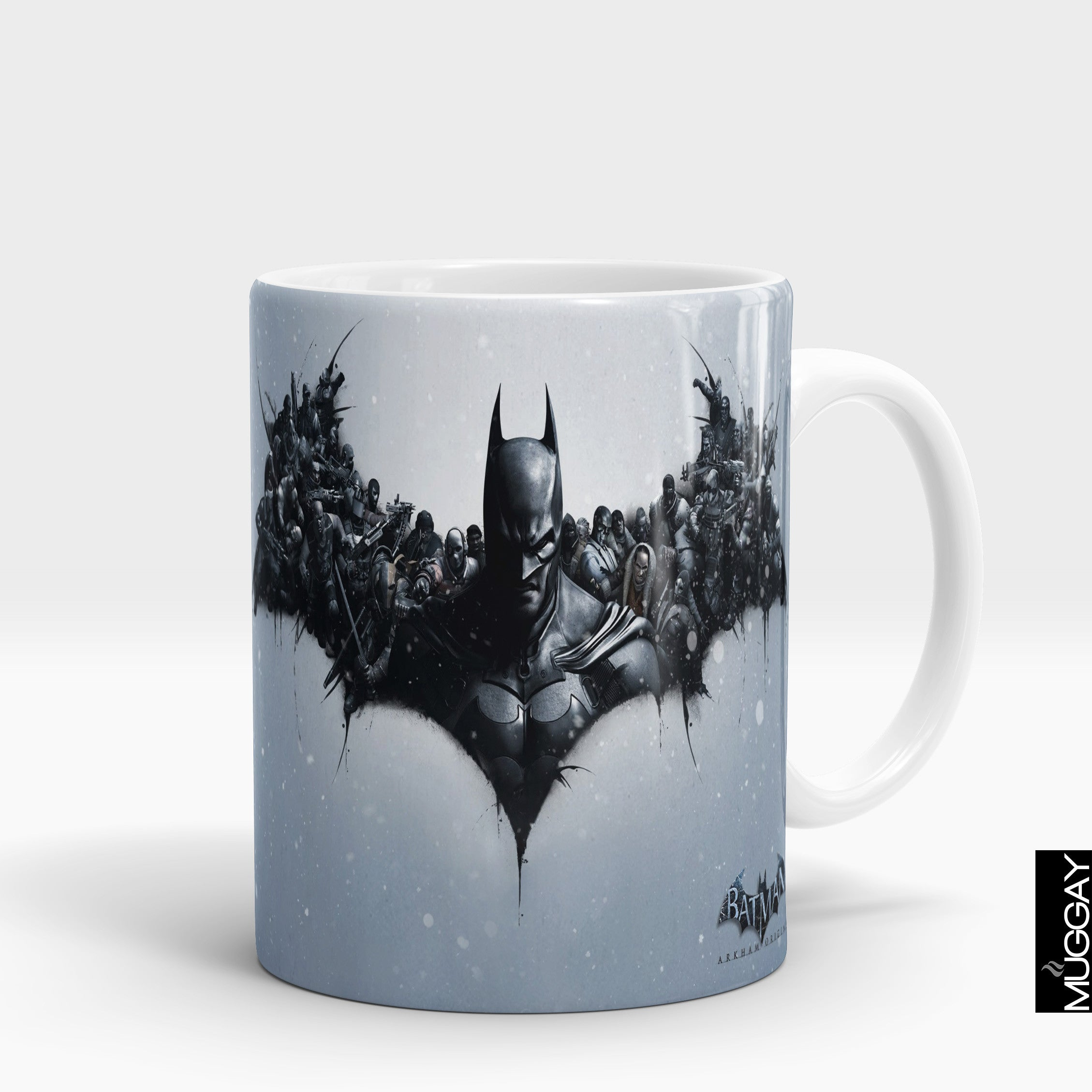 Batman Design Mugs - bm1 - Muggay.com - Mugs - Printing shop - truck Art mugs - Mug printing - Customized printing - Digital printing - Muggay