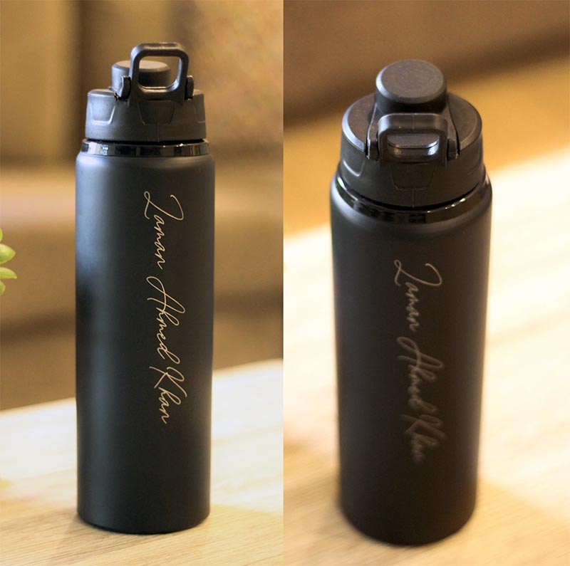 Aluminium Bottle - Black Matte
